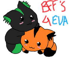 me and sly BFF'S 4 EVAR! by SakuraFromCp