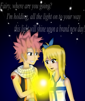 NaLu: Snow Fairy by Lavender-Star