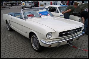 1965 Ford Mustang Convertible by compaan-art