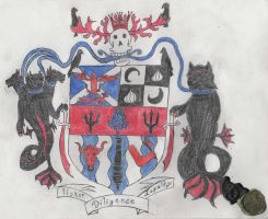 Coat of Arms: Ed the Butcher by Edward-Smee