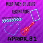 Mega Pack de Lights by Catalinaediciones1