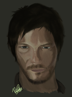 The Walking Dead - Daryl Dixon by aiRoy17