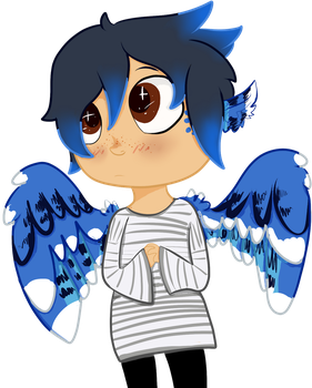 Bird child That Must Be Protected by Riverfiz203