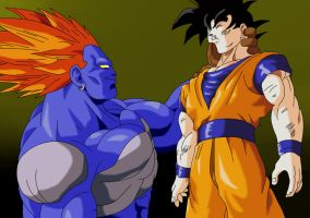 androide 13 vs goku by trunks887