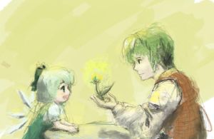 Touhou: Growing a Flower by ToucanPecan