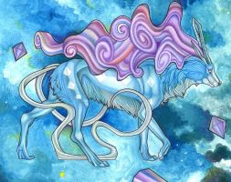 Suicune- crytal march by Mizehri