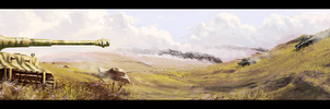 Kursk 1943, commission by woutart
