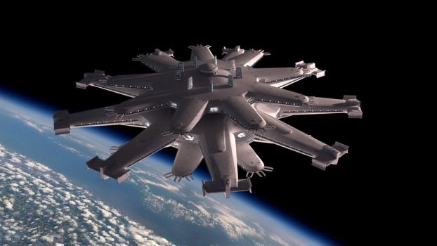 Space station class Vulcain -Chronicle of Man- by Avitus12