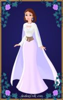Young Leia Organa Princess of Alderaan by LadyIlona1984