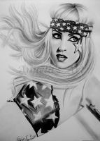 LADY GAGA 6 by AngelasPortraits