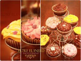 My Latest CupCake Creations :D by el7rf-el3need
