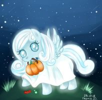 Snowdrop, Little Ghost by ThemisDolorous
