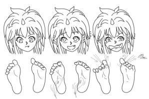 Play with feet  8 by Alma1129