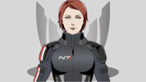 Commander Shepard by Wei723
