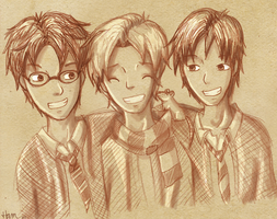 The Marauders by Hammy-chan