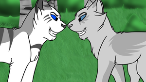 Ivypool and Dovewing - Animation by Fire-Loup