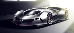 Mazda LeMans by roobi