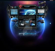 ProGamela Space Game Layout by samborek