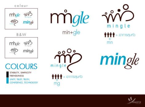 Mingle Logo by GLASSESGIRL