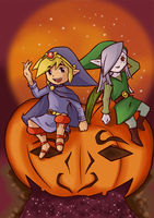 Happy Halloween by Yuese