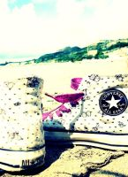 Summer converse . by justiv