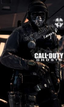 Call of Duty Ghosts - Keegan Phone Wallpaper by IWSFOD-D