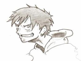 Monkey.d.Luffy by Cryis
