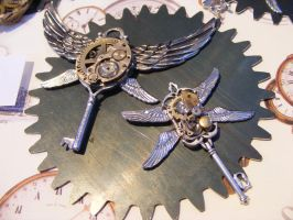 Steampunk Key Swing by Zackary