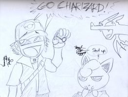 GO CHARIZARD :autograph: by Kirbopher15
