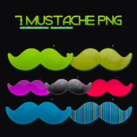 Mustache PNG by NachaEditions