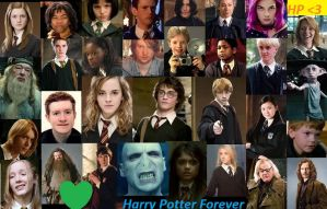 Harry Potter Collage! by MsBaconator