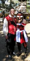 Ren Fair Costumes by forensicfox