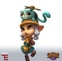 Dungeon Defenders 2 Pet Shop by JordanKerbow