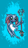 Fizz The Tidal Trickster by DeathDragon13
