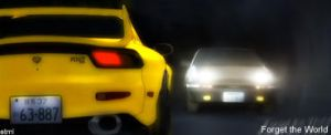 Initial D, Forget the World by breadz0r