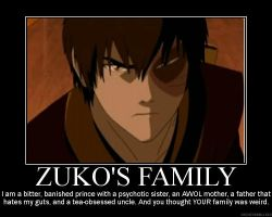 Zuko's family by darkangel939