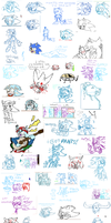 iScribble art dump 3 by Sege005