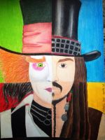 Johnny Depp by ale97