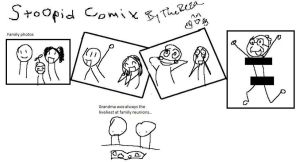 Stoopid comix family photos by TheReza13