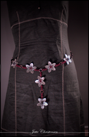chainmaille flower belt by Gex78