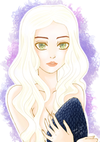 Mother of dragons by AnnaChaveiro