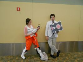 Otakon 2012 - Portal 2 Cosplay by Angel1224