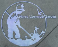 garden sign for mary by metal-otaku