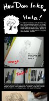 Inking Guide by lambchild