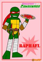 TMNT the PPC style-Raph by Porn1315