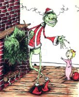 The Grinch by inkycharland