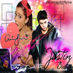 Justin Bieber and Ariana Grande icon by LucyyHale