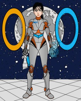 Commander Chell Shepard by LadyIlona1984