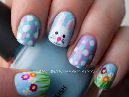 Easter Nails by Sharon77Speeds