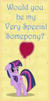 MLP Valentine Twilight2 by JiMMY--CHaN